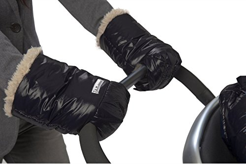 7 A.M. Enfant WarMMuffs 200 Stroller Gloves - Black