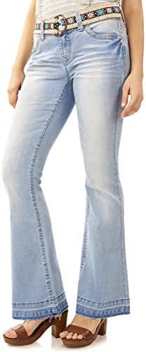 WallFlower Jeans Women's Starlette Fit and Flare