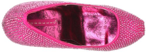 Pleaser Teeze-06R, Damen Pumps H. Pink Satin RS