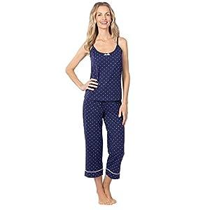 PajamaGram Womens PJs Cotton Capris – Womens Pajamas Set