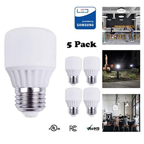 - Reo-Lite LED Bulb 150W Equivalent (UL Listed), LED Light Bulbs Cool White 4000k, Frosted 2000 Lumen Bulb 20W, E26 Edison Base LED Lights, LED Home Lighting Lamps, Dimmable (5 Pack)