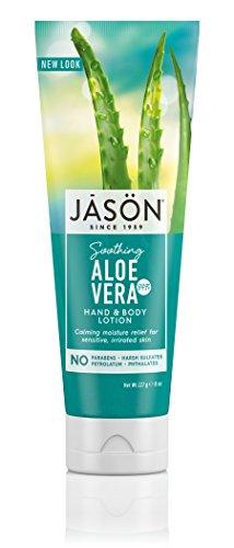 JASON 84% Aloe Vera Hand & Body Lotion, 8 Ounce (Pack of 3)