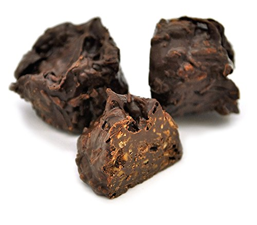 SUGAR FREE Dark Chocolate Coconut Clusters, 16 Oz. (1 Lb)