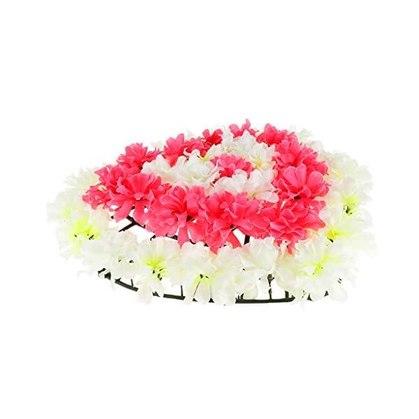 Fityle-Handmade-Flowers-Wreath-Cemetery-Memorial-Flower-Wreath-Funeral-Supplies-Heart-Shaped