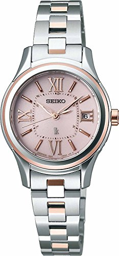 SEIKO WATCH watch LUKIA Rukia Solar radio Modify sapphire glass super clear coating for everyday life waterproof sub-media model SSVW034 Ladies