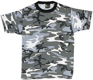 - 6797 Camouflage T-Shirt, City Gray, XL