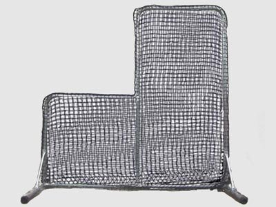 Cimarron Residential L-Screen (Net and Frame, 7x6) by Cimarron