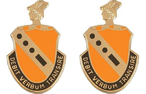 (56th Signal Battalion Distinctive Unit Insignia - Pair )
