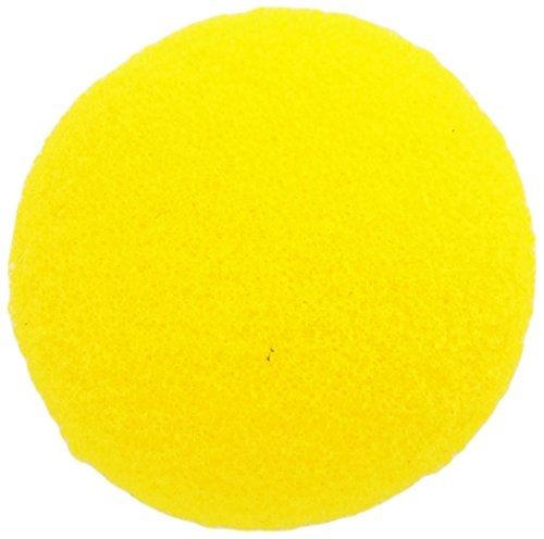 volley-foam-022206-uncoated-table-tennis-ball-yellow-1-1-2-diameter-set-of-12