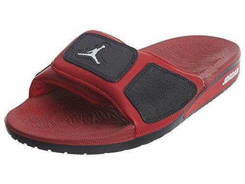 594665653 Nike Jordan Men s Jordan Hydro 3 Black White Gym Red Sandal 8 Men US - Buy  Online in UAE.
