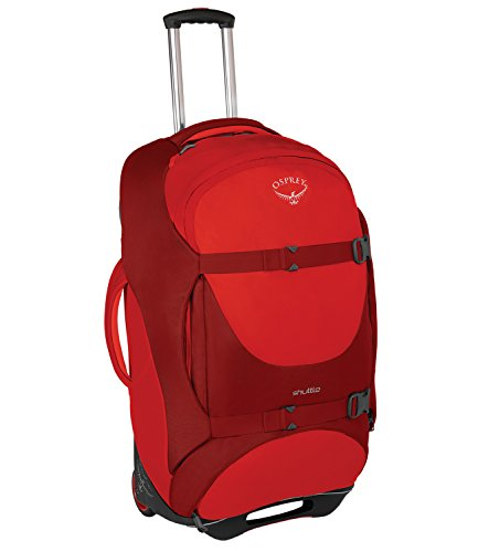 Osprey Shuttle 30'/100L Wheeled Luggage, Diablo Red