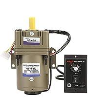AC 220V 40W Instelbare snelheidsreductiemotor 220VAC Traploze snelheidsregeling Omkeerbare snelheidsmotor(Gear Reduction Ratio 5K)