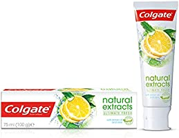Colgate Natural Extracts Ultimate Fresh with Lemon and Aloe Vera Toothpaste, 75ml
