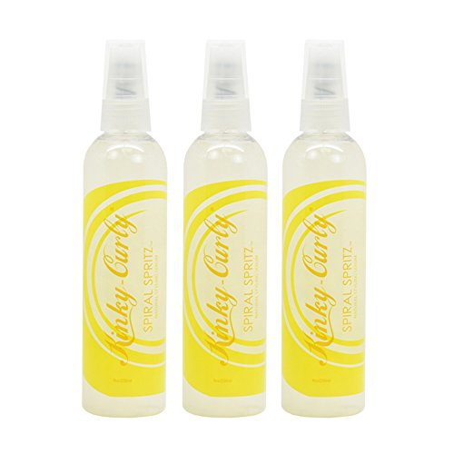 (Kinky Curly Spiral Spritz Natural Styling Serum 8oz