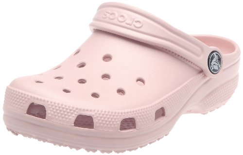 (Crocs Girls Cayman Cotton Candy Canvas Sandals 10/11 UK US C10/11)