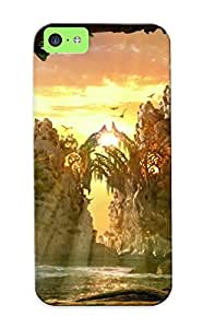 New Style Stylishgojkqt Hard Case Cover For Iphone 5c- Legend Of The Guardians
