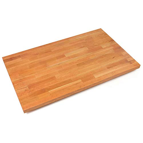 John Boos CHYKCT-BL6027-O Blended Cherry Counter Top with Oil Finish, 1.5'' Thickness, 60'' x 27''
