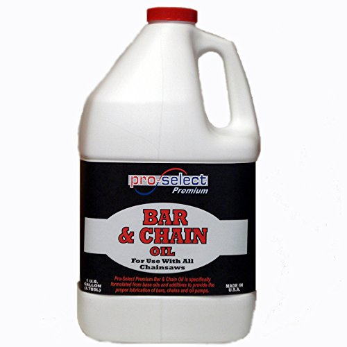 PRO SLCT 128-oz Conventional Bar and Chain Oil Premium Quality for Excellent Lubrication of Bars, Chains and Oil Pumps
