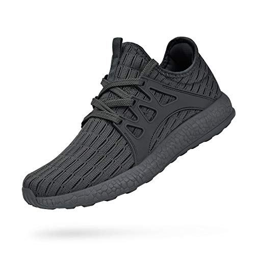 QANSI Men's Shoes Outdoor Mesh Ultra Lightweight Breathable Athletic Running Walking Gym Shoes Size 11