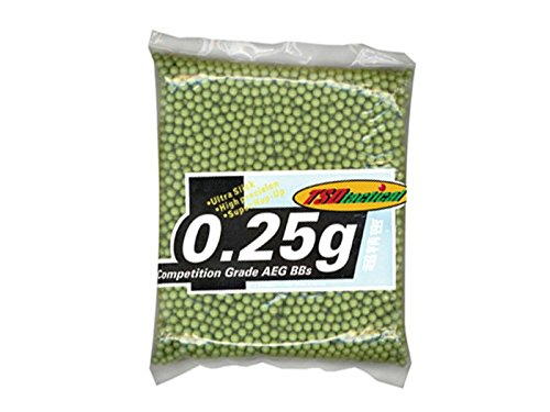 TSD Tactical 5,000 ct. Bag Plastic Olive Drab Green Airsoft BBs (6mm, 0.25g) by TSD Tactical (Image #1)