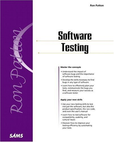 Software Testing by Ron Patton (2000-11-07)