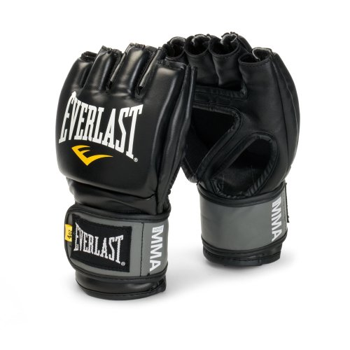 (Everlast Pro Style Grappling Gloves Small/ Medium Black)