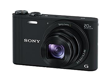 Sony Dscwx350 18 Mp Digital Camera Black