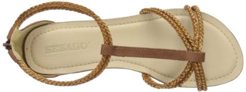 Sebago Poole T-strap Damen T-Spange Braun