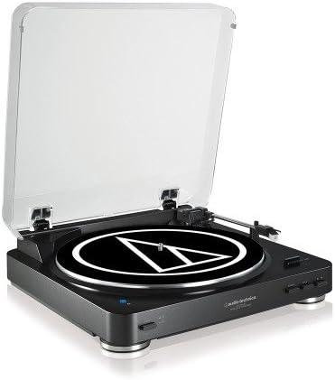Tocadiscos Audio Technica AT-LP60BTBK Color Negro