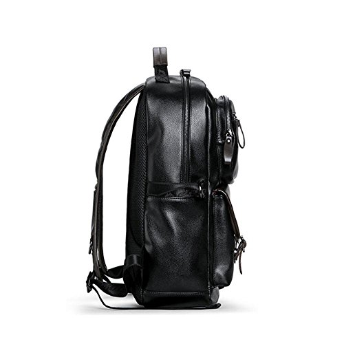Bags Bags Fashion B Computer Leather Backpack Men Bag School Outdoor Casual A BwqSxY4gZn