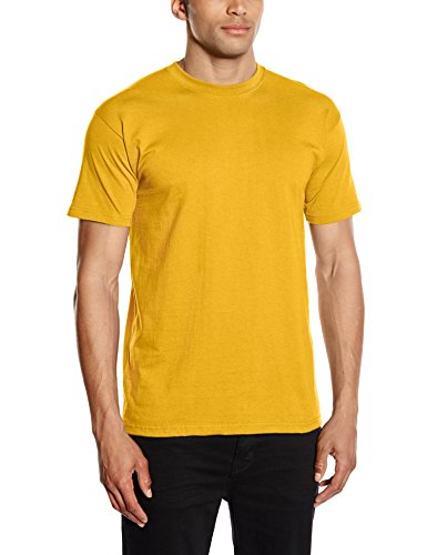 Fruit of the Loom Herren, Regular Fit, T-Shirt, Premium Tee Single, GR. X-Large (Herstellergröße: X-Large), Gelb (sunflower Yellow)