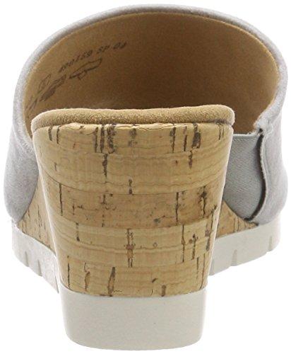 alla Caviglia Grigio Kork Comfort Gabor Cinturino Grey Donna Sport Sandali con Ywn4wBqXCx