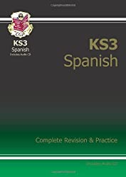 KS3 Spanish Complete Revision & Practice with Audio CD