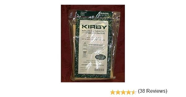 amazoncom kirby vacuum bags micron magic hepa 3 pack household vacuum bags upright