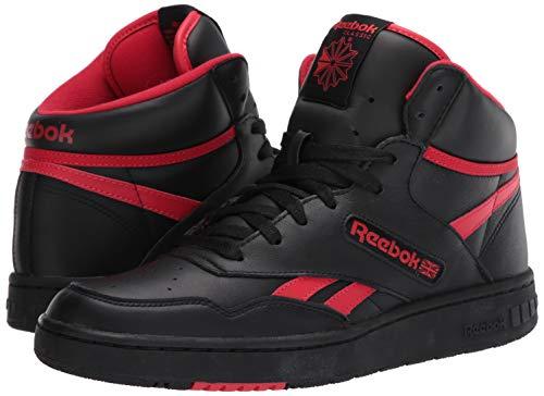 Reebok BB 4600 Sneaker, Black/Primal Red/Black, 11 M US