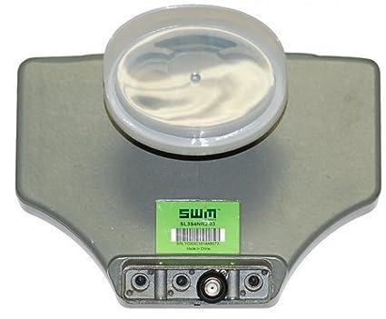 amazon com: directv sl3-swm slimline single wire ka/ku triple lnb with  built-in multiswitch: electronics