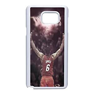 Samsung Galaxy Note 5 Cell Phone Case White LeBron James_009 Gift P0J0Z3-2398754