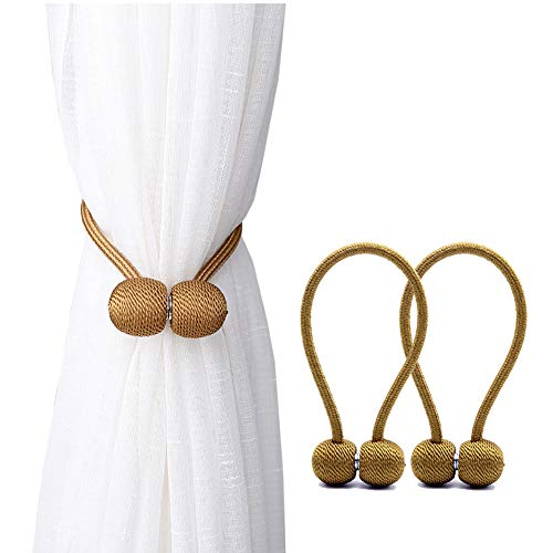 DEZENE Magnetic Curtain Tiebacks,The Most Convenient for sale  Delivered anywhere in USA