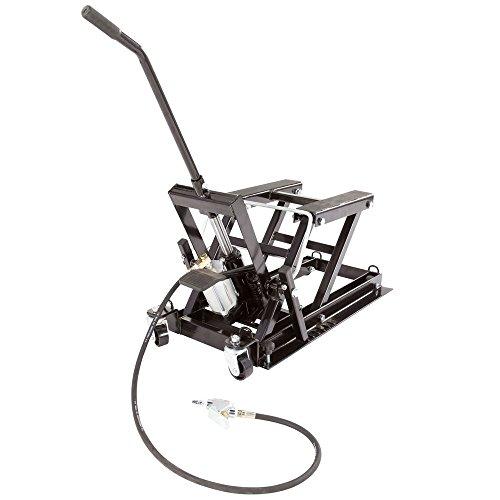 Black Widow Motorcycle & ATV Pneumatic Hydraulic Jack Black Widow Hydraulic Motorcycle Jack