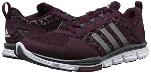 888591556904 - adidas Performance Men's Speed Trainer 2 Training Shoe, Maroon/Carbon Metallic/Tech Grey/Metallic, 10 M US carousel main 5