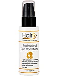 HairRx Professional Curl Conditioner, 3.4 Ounce