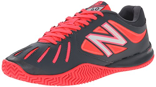 New Balance Womens WC60 Lightweight Tennis Shoe Pink/Dark Grey BiKi33I