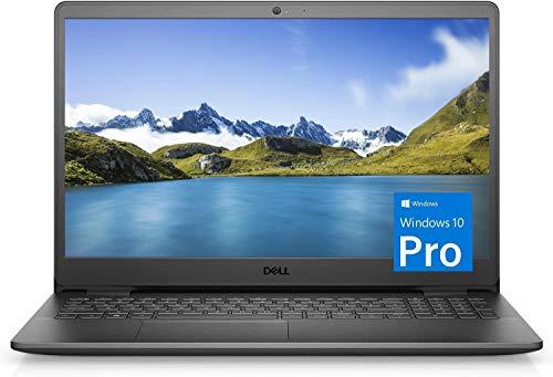 Dell Inspiron 15 3000 Laptop (2021 Latest Model), 15.6″ HD Display, Intel N4020 Dual-Core Processor, 16GB RAM, 256GB SSD, Webcam, HDMI, Bluetooth, Wi-Fi, Black, Windows 10 Pro