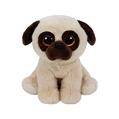 Ty Beanie Babies Rufus - Pug: Toys & Games
