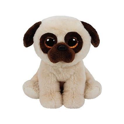 Amazon.com  Ty Beanie Babies Rufus - Pug  Toys   Games 940b56df287