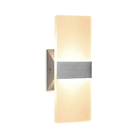 quality design 5291a 3426a Wall Sconce 12W LED Modern Wall Lamp Warm White, Acrylic Material Wall  Mounted Wall Lights Decorative Wall Sconces