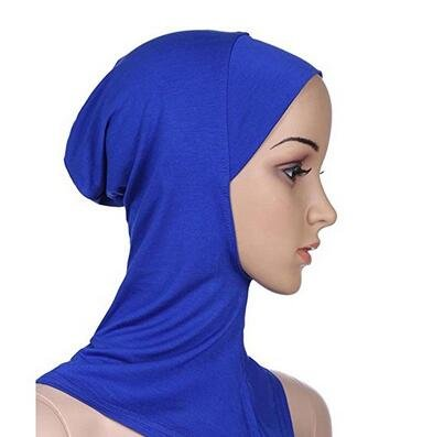 josep H donna musulmana Full Cover interna Hijab Cap Underscarf islamico collo testa cofano cappello taglia unica Beige