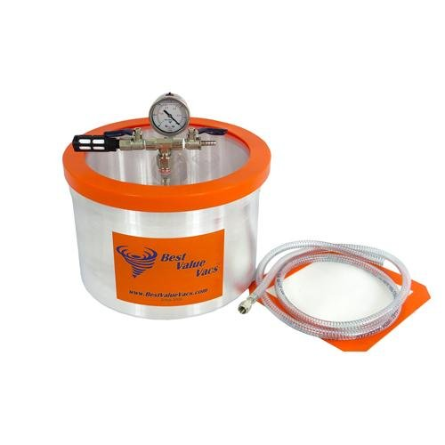 Best Value Vacs 3gvac Borosilicate Glass Vacuum and Degassing Chambers, 3 gal Capacity (Pro Vac Vacuum Chamber compare prices)