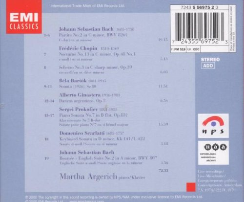 Live From the Concertgebouw 1978 & 1979 by EMI Classics (Image #1)