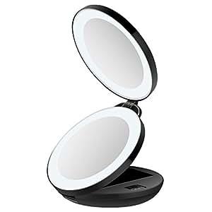 Amazon Com Kedsum 1x 10x Double Sided Led Lighted Makeup